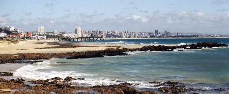 Sea view of Summerstrand, Port Elizabeth