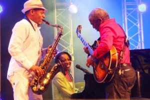 Musicians at Bloemfonteins MACUFE Cultural Festival