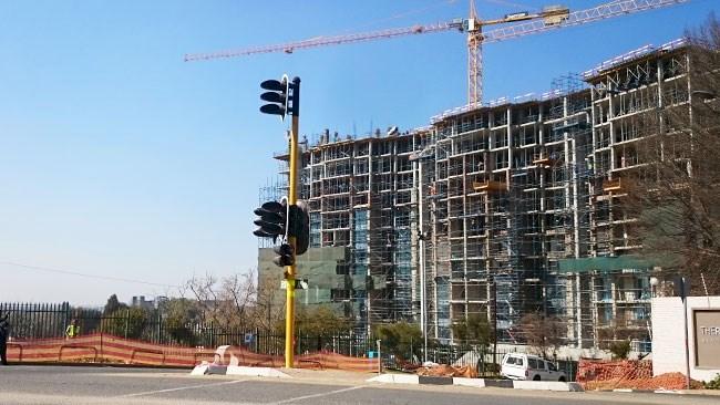 Property development in Sandton