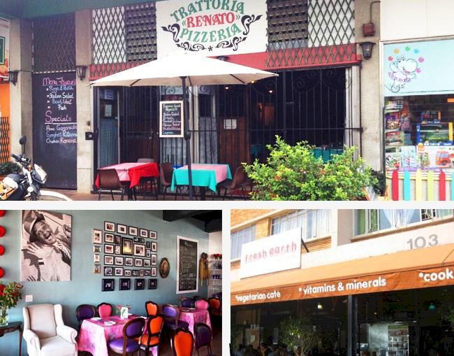 Restaurants in Emmarentia
