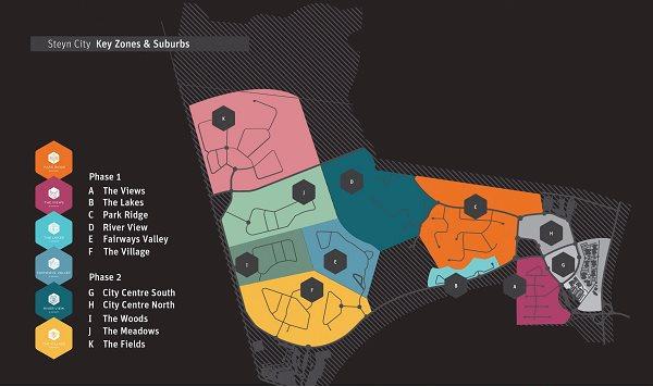 Steyn City Plan