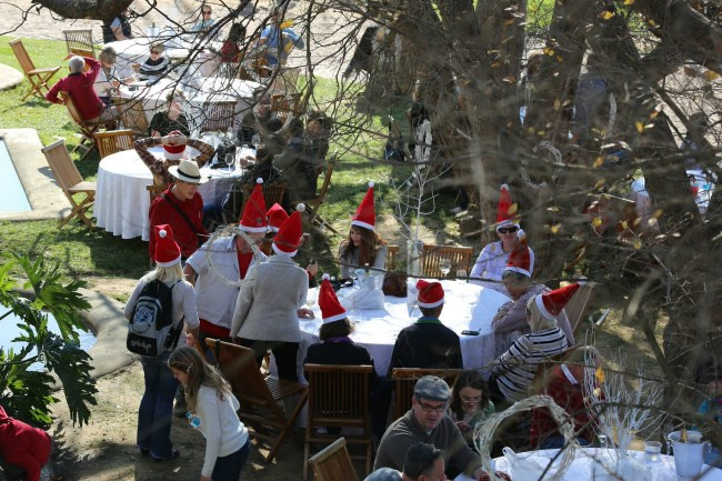 Christmas event in Tulbagh