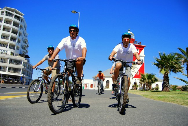 Cycling in Cape Town