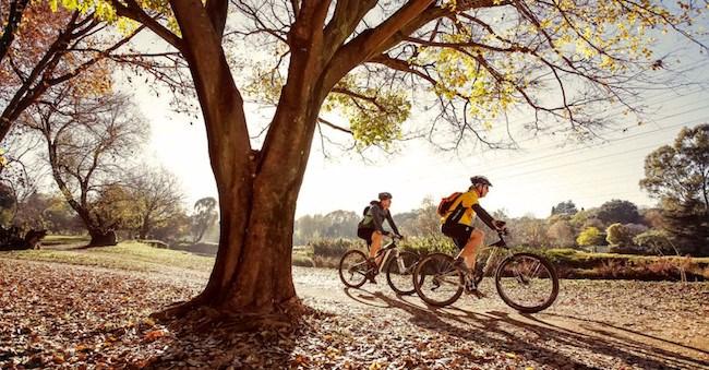 cycling outdoors gauteng