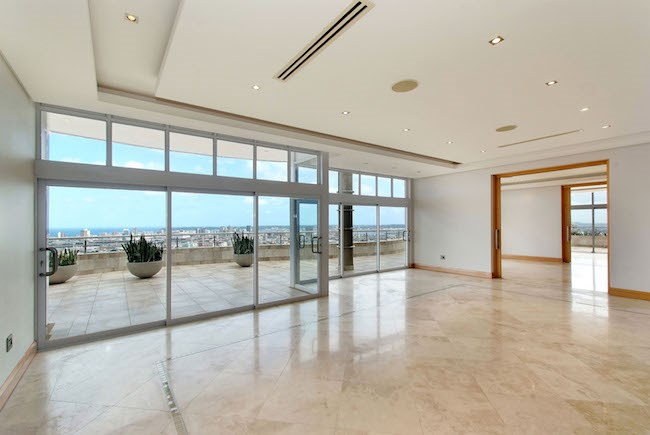 Inside look into the R18m Berea penthouse with an ocean view