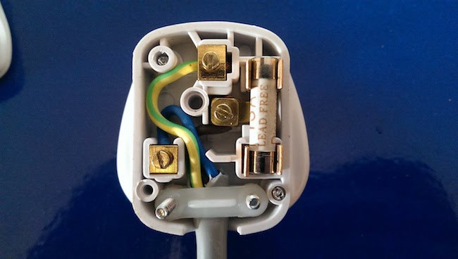 How to rewire a plug on a household appliance