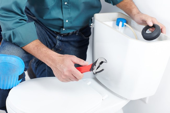 how a homeowner can fix a running toilet themselves