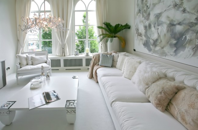Cushions in home