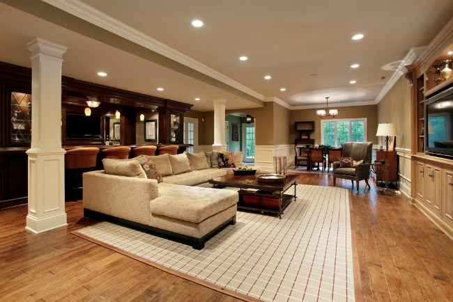Lucury rug in home