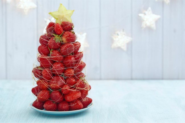 Strawberry decoration