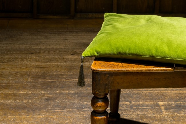 Cushion in home