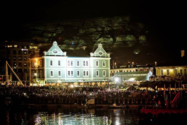 New Year's Eve at the V&A Waterfront