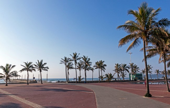 "Durban ""Golden Mile"" Beach promenade"