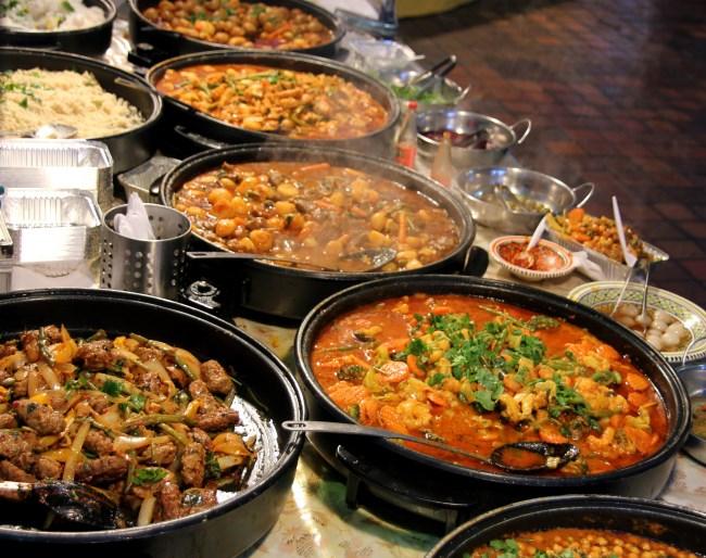 Curry buffet