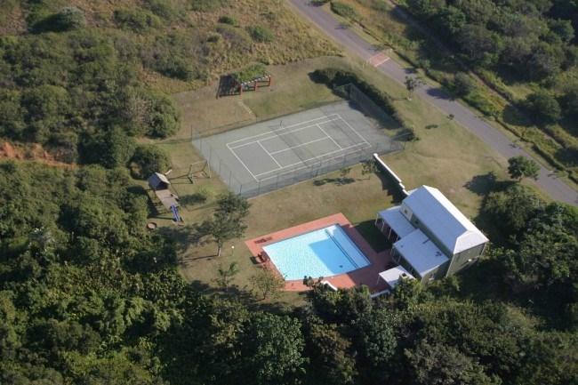 tennis court home