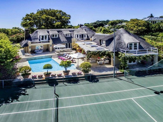 10 Smashing Homes With Tennis Courts Private Property