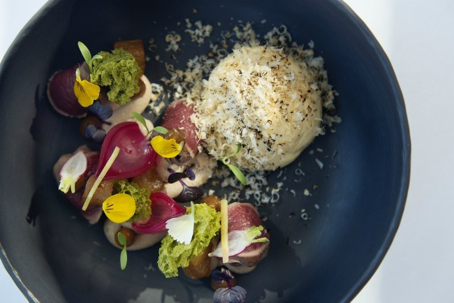 La petite Colombe by Claire Gunn food plate