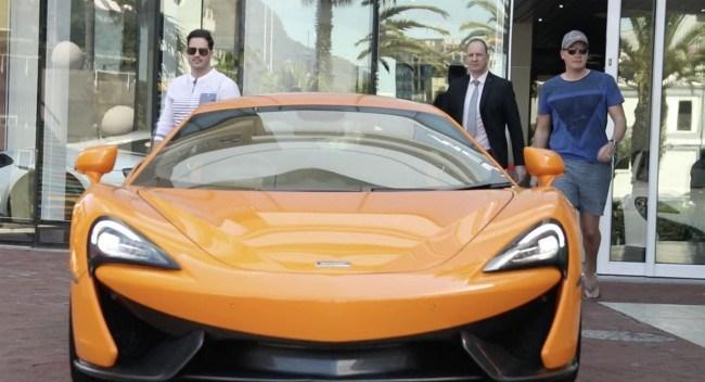 McLaren dealership