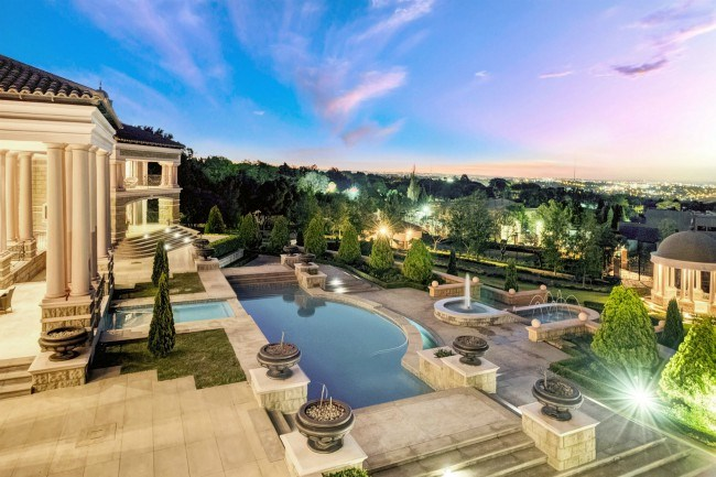 A palatial sandton home on sale for r m private property