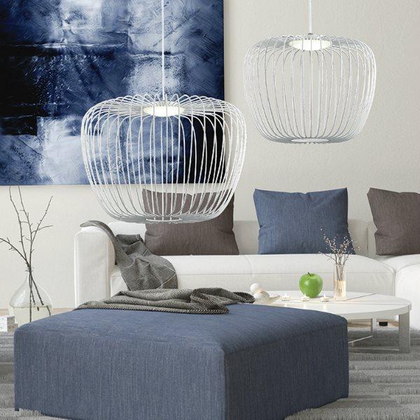 Wire light fixtures