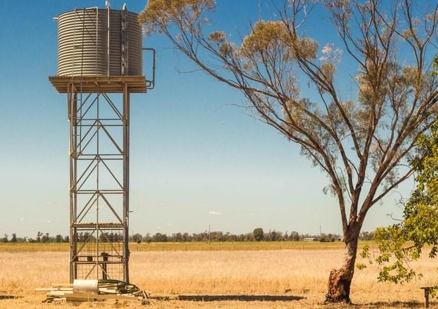 A water tank