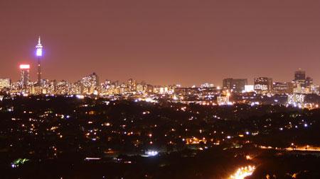 Johannesburg CBD and Bruma