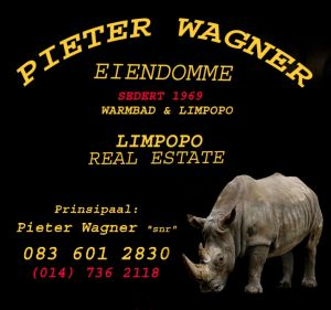 Pieter Wagner Eiendomme-Warmbad / Limpopo