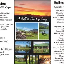 Property in Grabouw to Swellendam