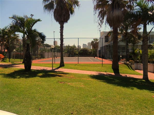home tennis court in Umhlanga Rocks