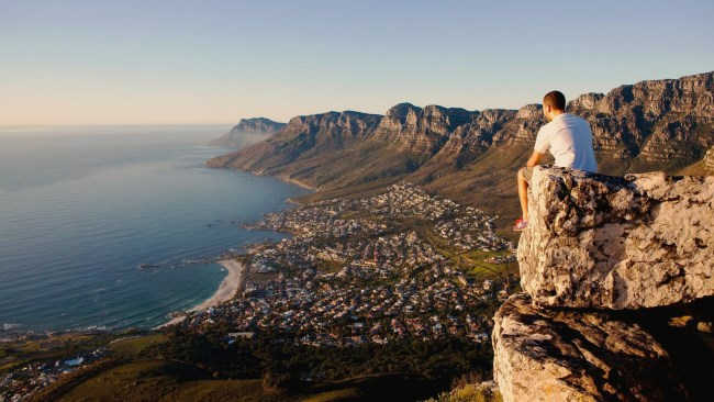 Lions Head summit view of Cape Town