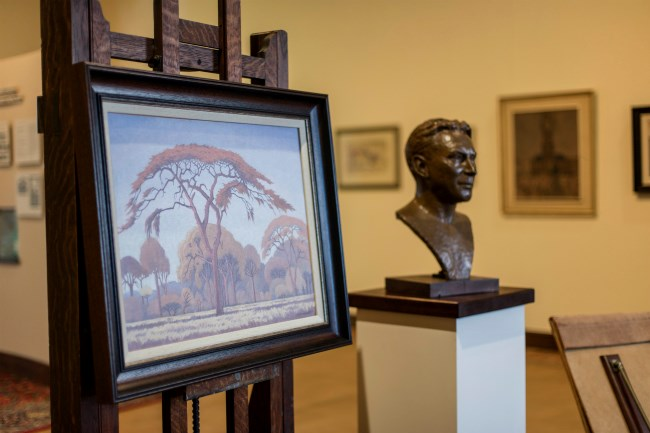 An inside look at the memorabilia and artworks of the JH Pierneef Museum