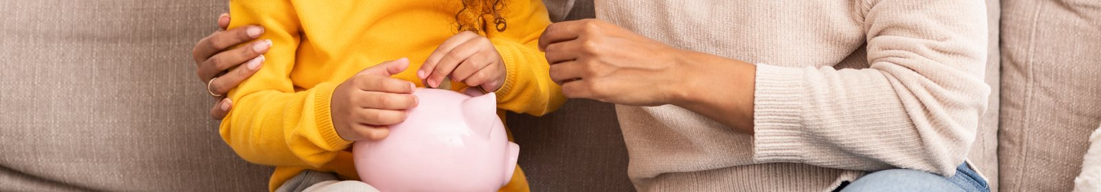 Four healthy money habits to teach your kids