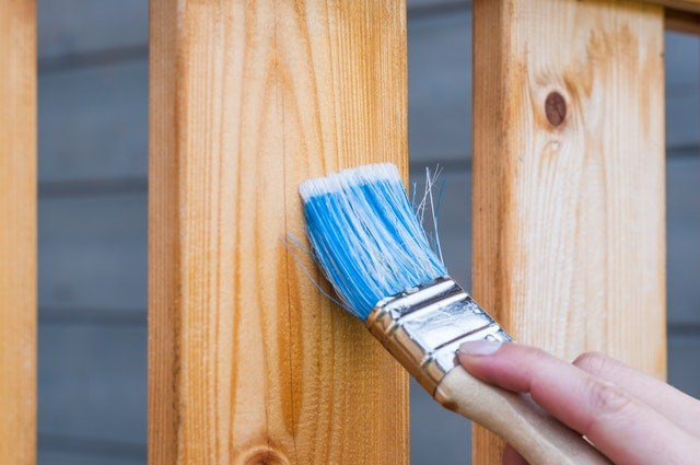 Liven up wooden surfaces