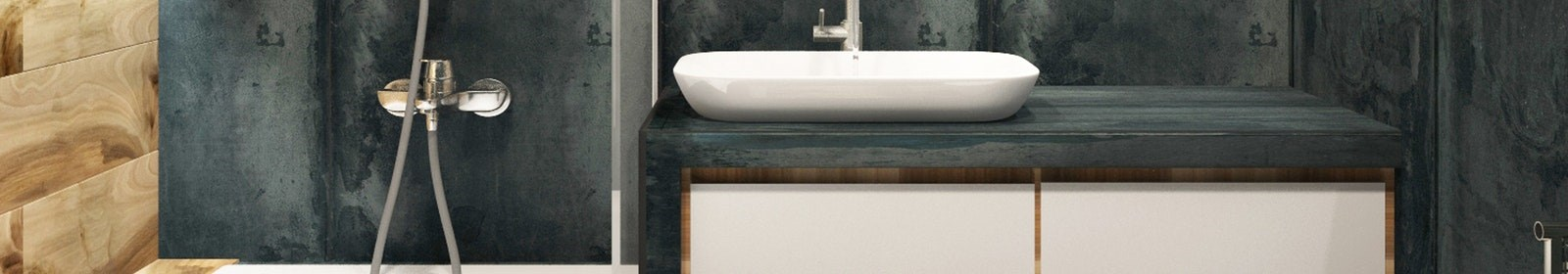 Compact storage spaces for bathrooms