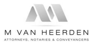 M Van Heerden Attorneys
