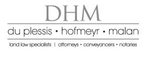 Du Plessis Hofmeyr Malan Inc
