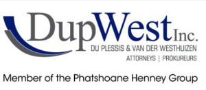 Du Plessis & vd Westhuizen Inc