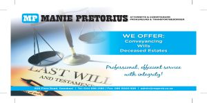 Manie Pretorius Attorneys