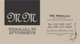 Mdhluli M Attorneys
