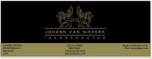 Johann Van Niekerk Inc