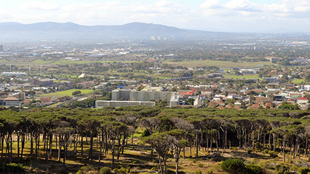 Image of Cape Town Southern Suburbs
