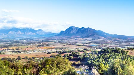 Image of Paarl to Franschhoek