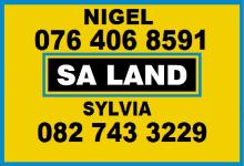 SA Land, Johannesburg
