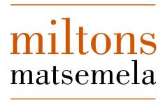 Miltons Matsemela, Milton Matsemela - Houtbay