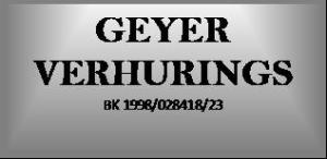 Geyer Verhurings